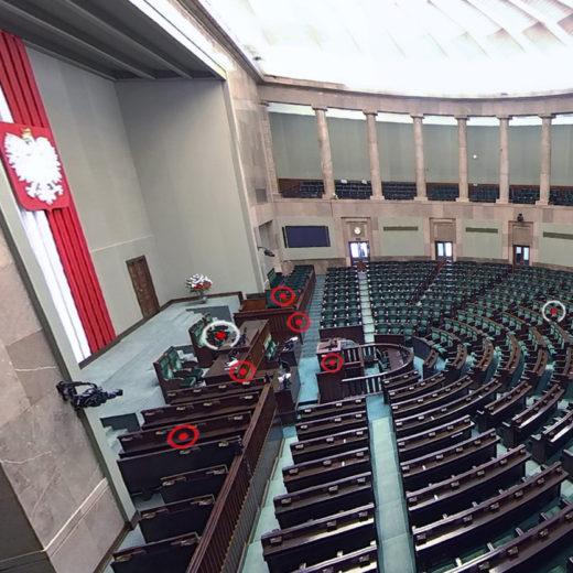 Sejm VR president view 3R Studio